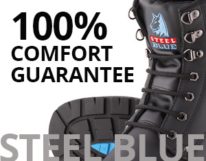 Steel Blue Footwear