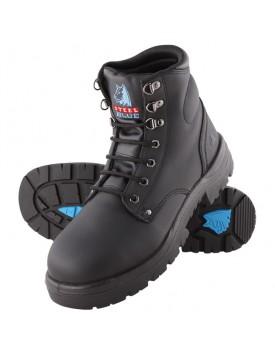 Steel Blue Argyle Black